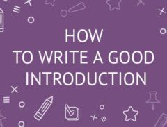 How to write a thesis for beginners
